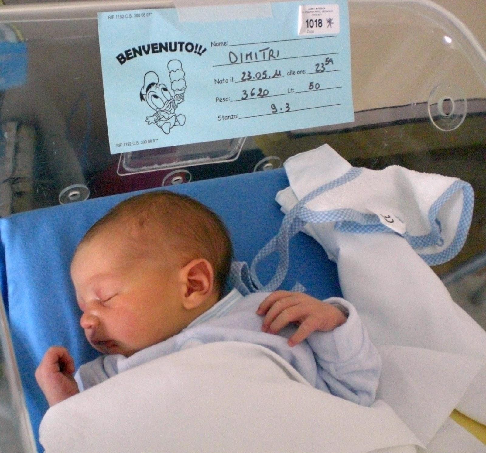 Dimitri-nascita