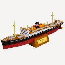 nave in carta