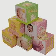 cubi in carta con foto