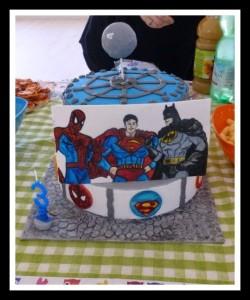 Torta supereroi