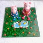 Torta per Amos e torta Peppa Pig per Rachele!!!