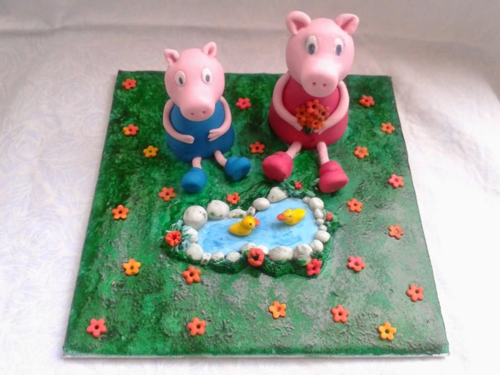 Pigs Cake, Peppa Pigs, Mummy Pigs, Birthday Parties, Cake Ideas, Children Cake, Cake Models, Birthday Cake, Cake Toppers