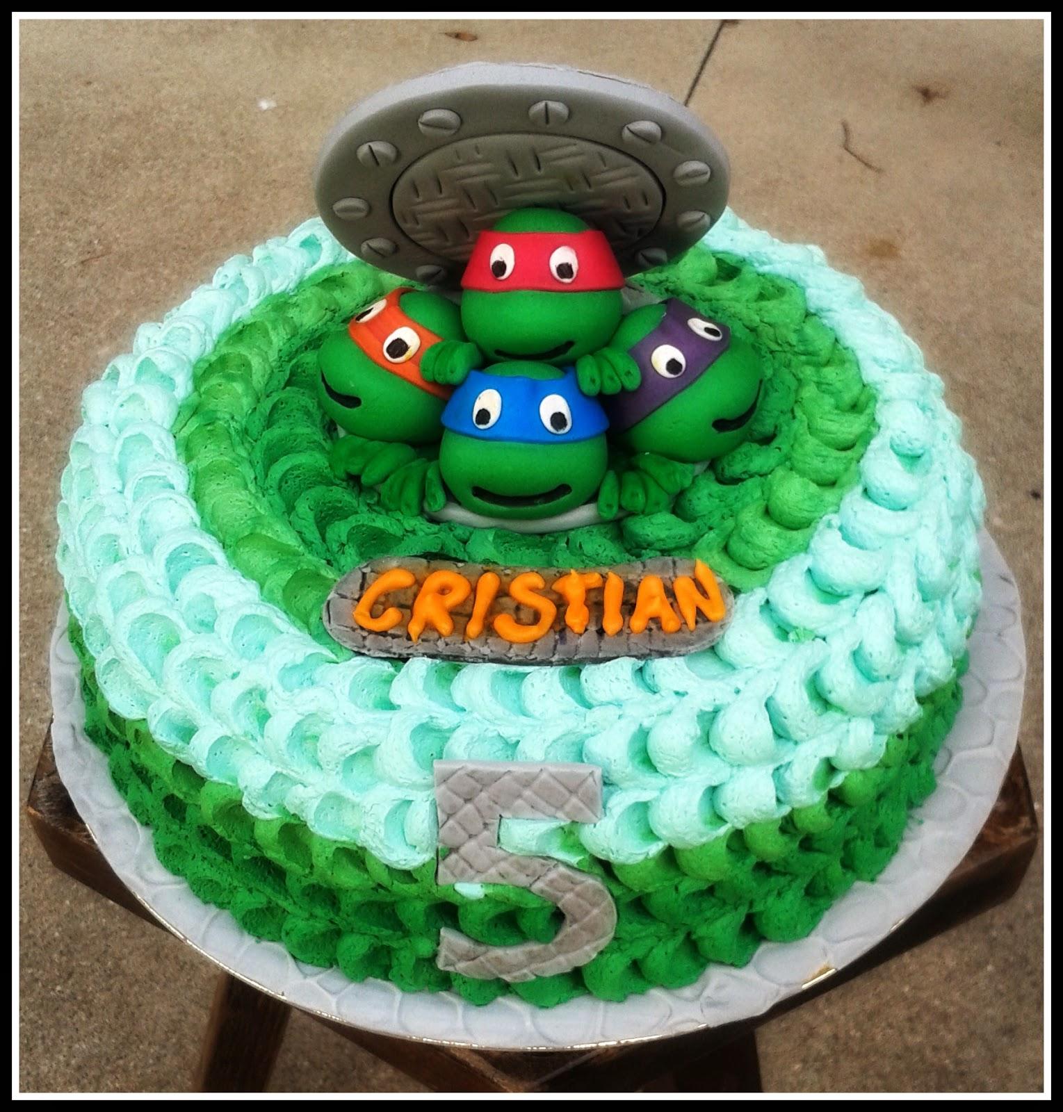 Torta Tartarughe Ninja Ninja Turtles Cake Mum Cake Frelis