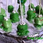 frog cakepops tutorial