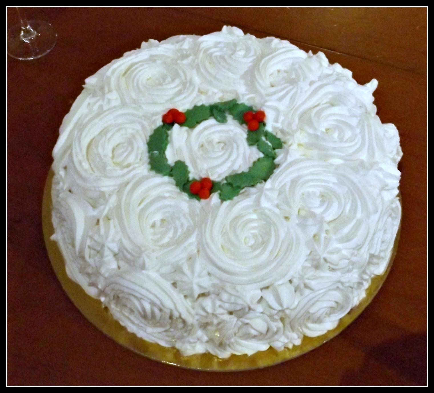 Torte natalizie mum cake frelis - Torte salate decorate ...
