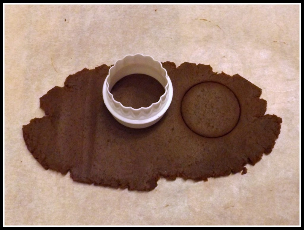 tutorial biscotti in pasta sucre al cioccolato a forma di bottone