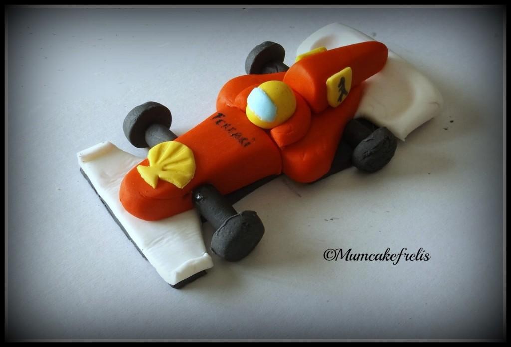 Ferrari Car Cake Topper