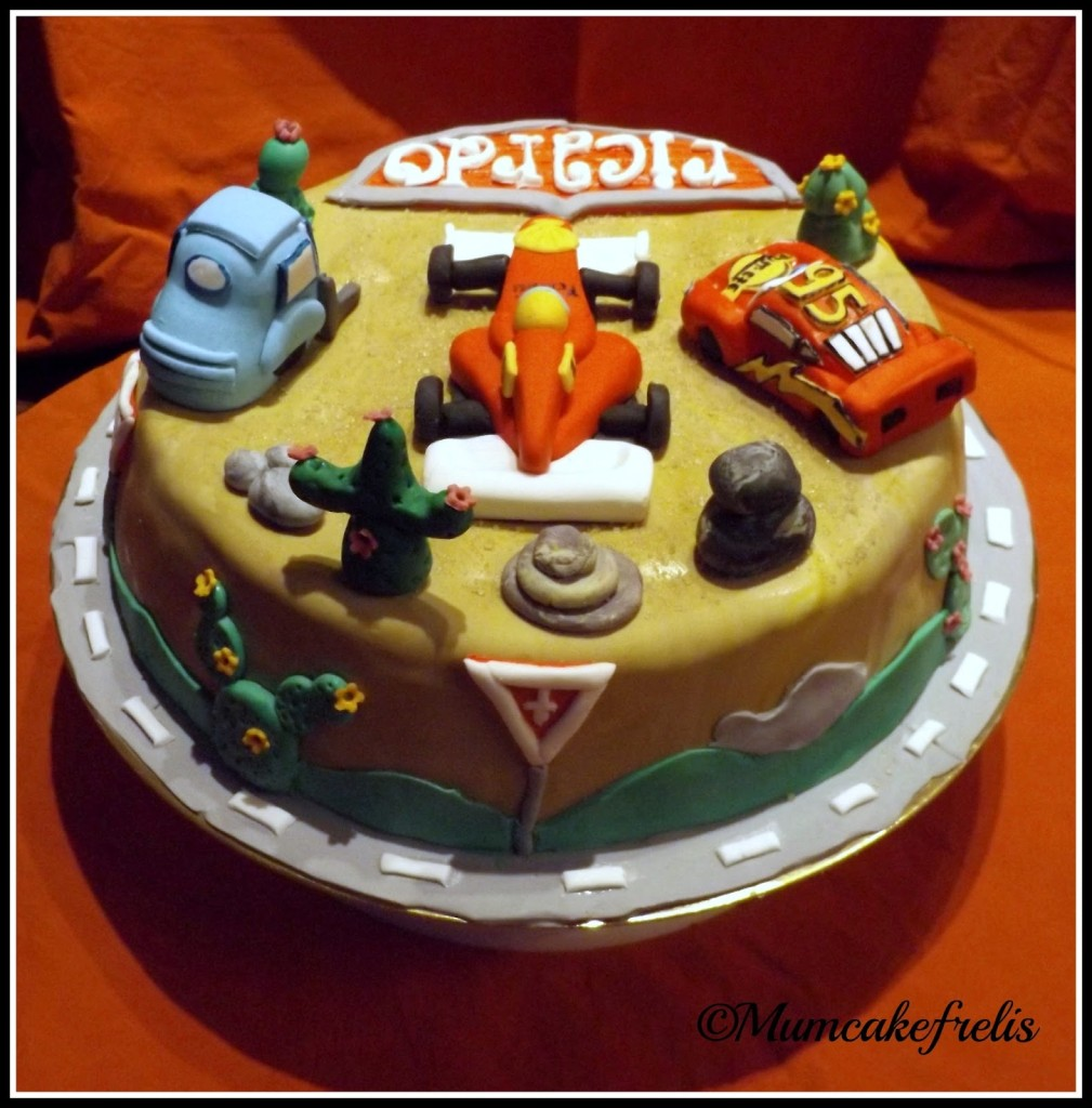 Boys favourite Disney Cars Cake