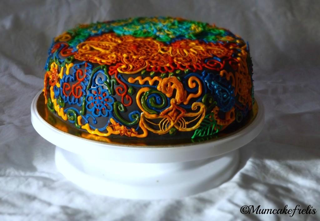 Desigual cake (birthday Cake) made for mum