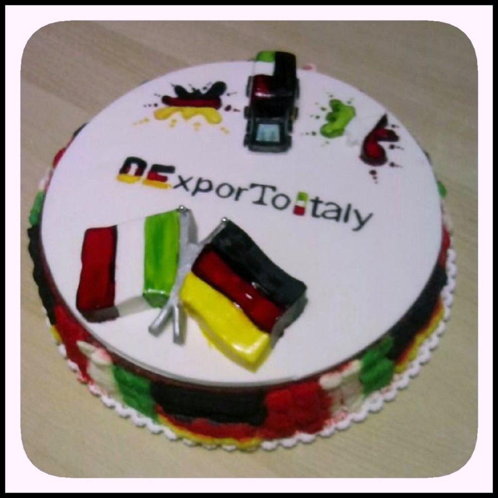cake DExporToItaly German Italy