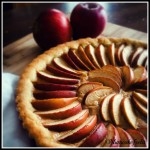 crostata di mele e nocciole