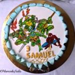 Ninja Turtles 26 Spiderman Cake Copia
