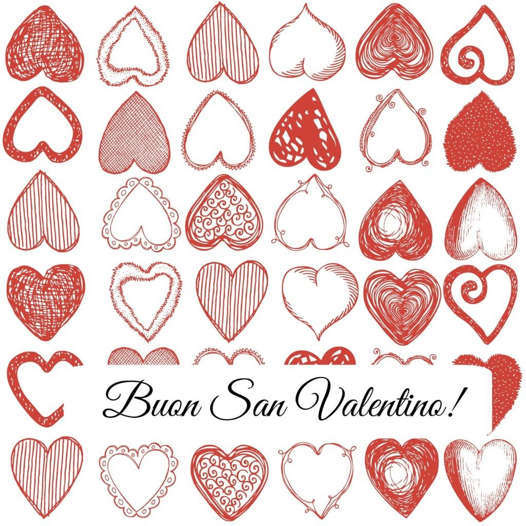 tag chiudipacco San Valentino con cuori rossi red heart tag cookie