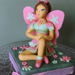 winx flora cake topper