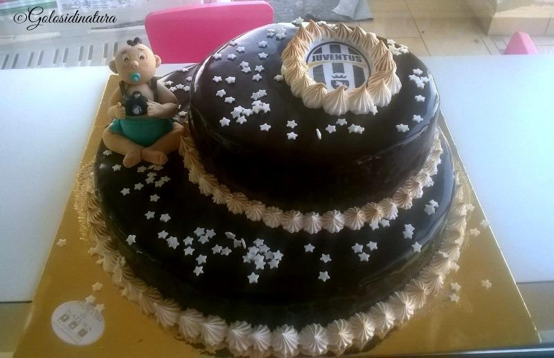 handmade edible baby boy cake topper