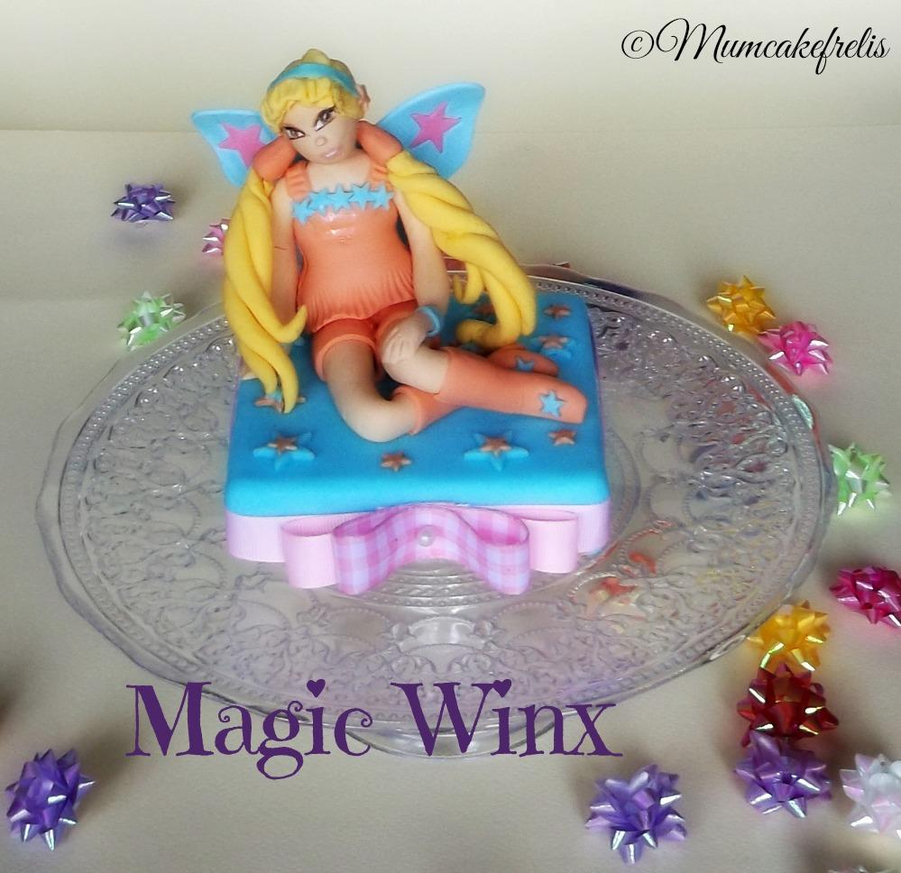 Stella Winx cake topper