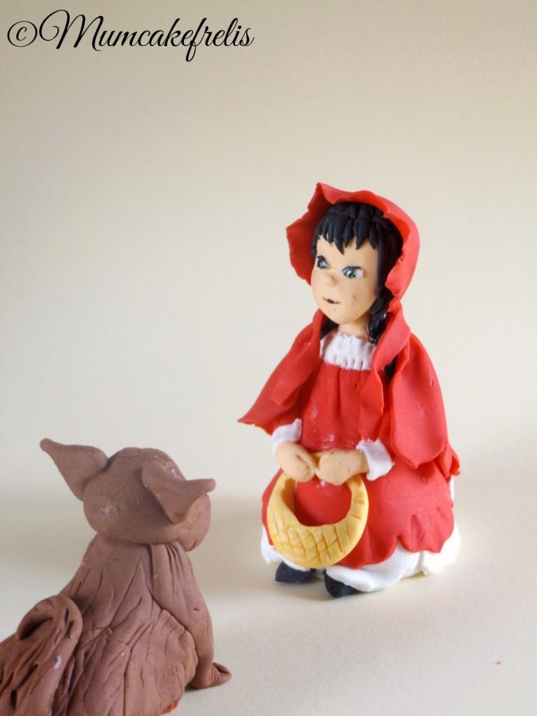 Little Red Riding Hood Fondant