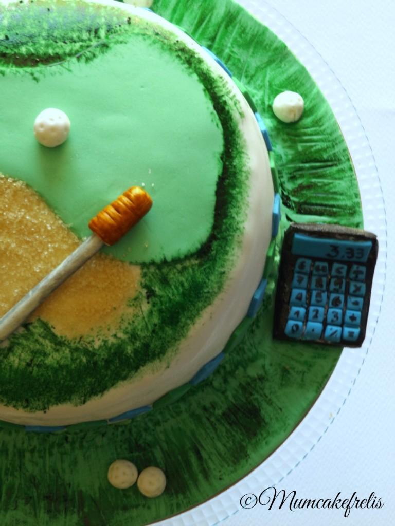 Golf cake 30th Birthday Golf Cake