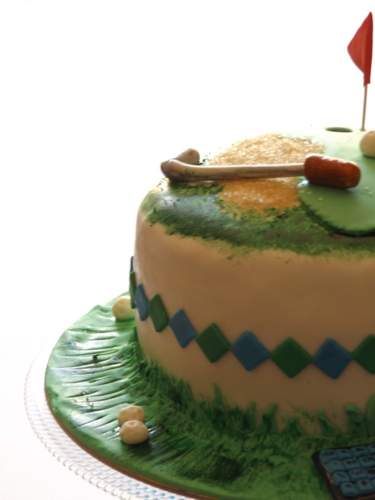 30th Birthday Golf Cake