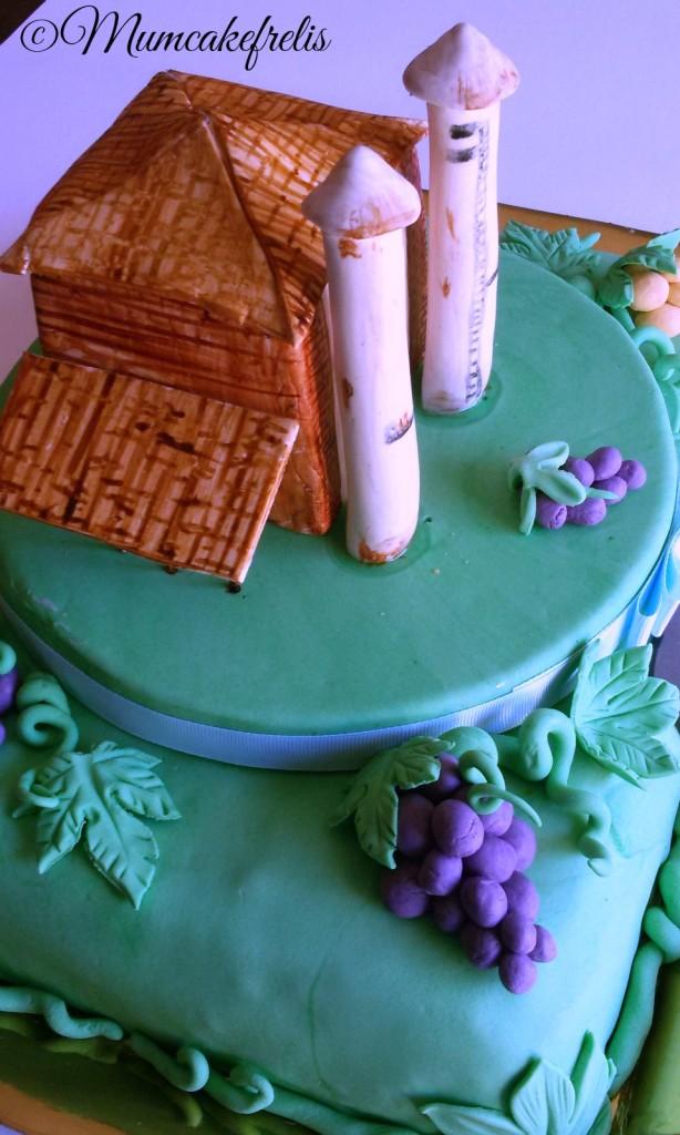 Wine Grape - Grappolo d'Uva fienile pasta di zucchero