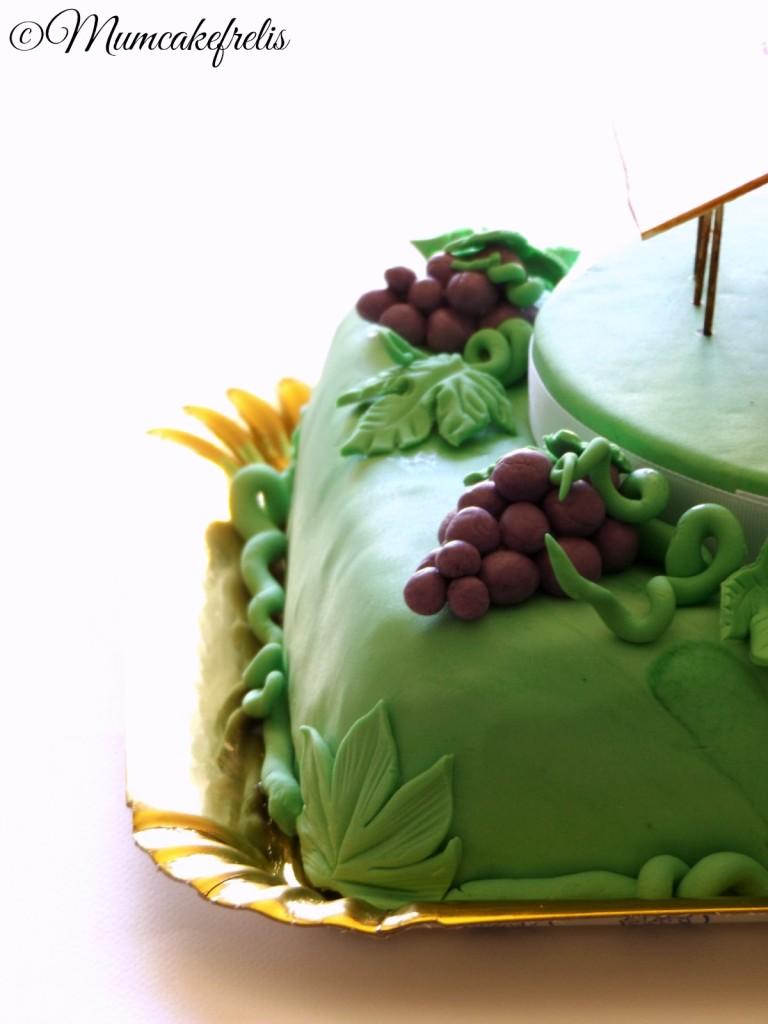 Wine Grape - Grappolo d'Uva  Torta fienile azienda vinicola
