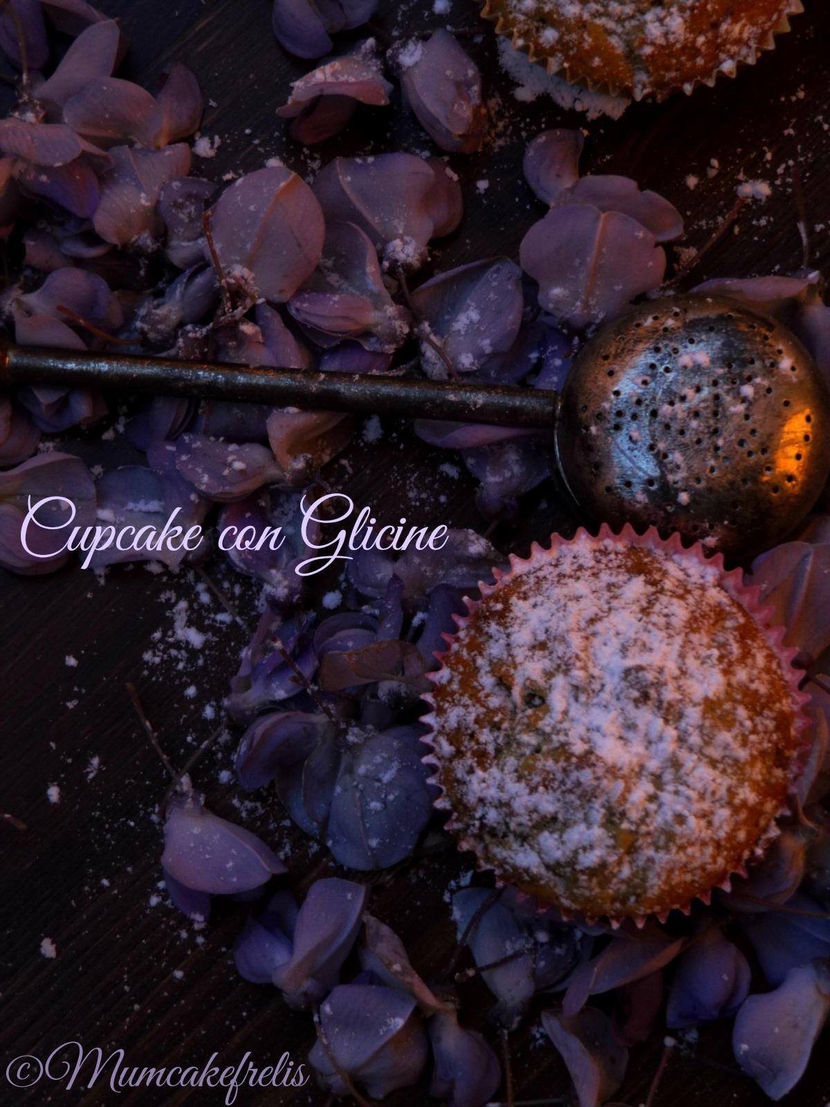 Cupcake con Glicine