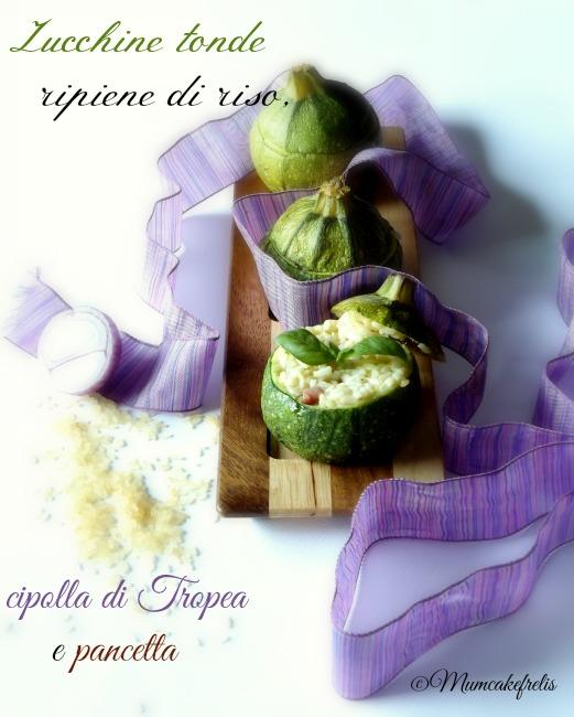 Zucchine-tonde ripiene