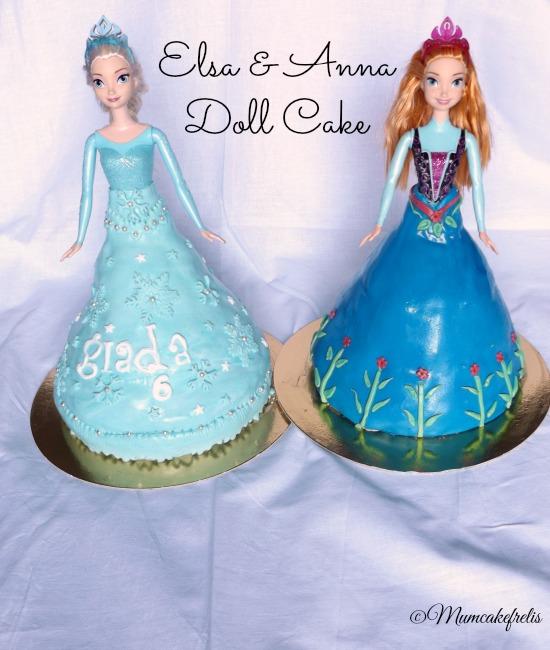 6Th Birthday Cake, Elsa Princesses Doll Cake, Chocolates Cake, Cake Design, Doll Cakes, Cake Ideas, Elsa Doll Cake By Cups N Cak, Elsa Fondant Cake, Frozen Elsa doll cake: Frozen Parties, Frozen Elsa, Cakes Ideas, Birthday Parties