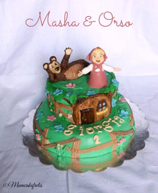 Masha e Orso torta di compleanno SUPER creativa per i bambini, Adorata dai bambini, Festa a tema Masha e Orso, simpatica ai genitori, Masha è una monella. Masha and bear cake,Masha and Bear Cake.: Babys Bears, Bears Cake, Bears Da, Cake,Masha & The Bears Cakes, Cakes Masha And The Bears, Cakes Ideas, Bolo Cakes Pastel, Masha Bears Cakes, Masha And The Bears Cake