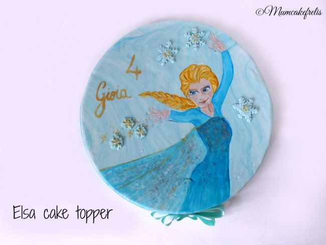 Awesome Elsa, Fondant Elsa, Elsa Fondant, Awesome Cakes, Elsa Cakes, Elsa Frozen, Frozen Fondant Cakes, Fondant Cakes Toppers, Frozen Cakes
