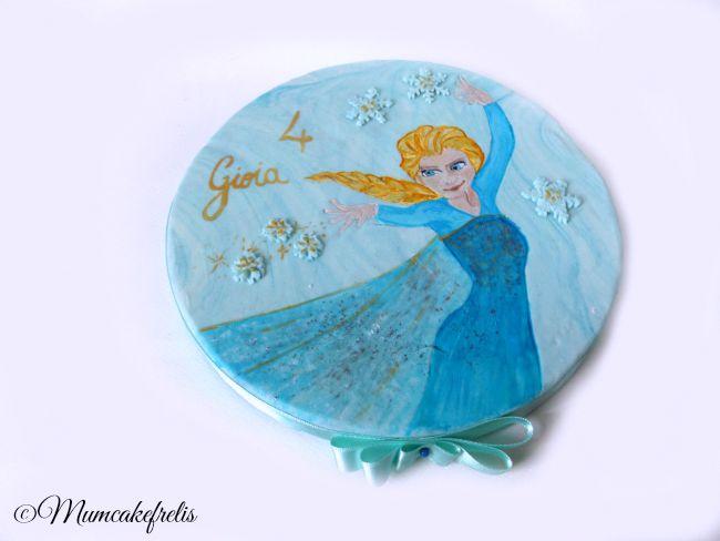 Disney-Frozen-Elsa-Edible-Image-Sugar-Frosting-Sheet-The Snow Queen Cake Topper 'Queen Elsa Edible Image Cake Topper