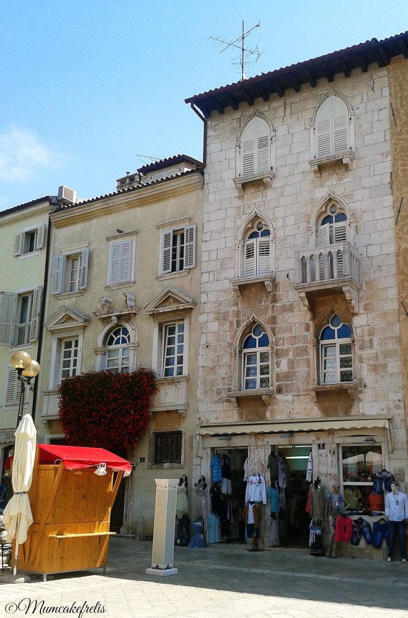 Palazzi antichi Marafor piazza dei Signori Parenzo