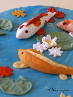 Koi Carp Pond Cake Topper, Cakes Topper Ideas, Cakes Toper, Koi Fish, Cakes Toppers I, Fish, Cakes Topps, Cake Toppers, Inspiration Koi