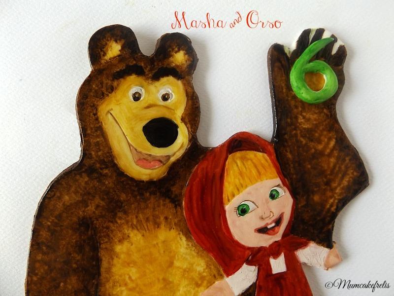 Masha & Orso Cialda dipinta