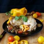 Stufato di pollo con salsa di soia