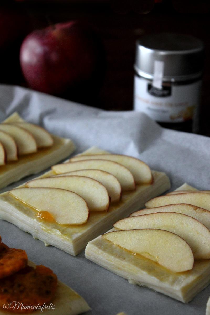Sfogliatine sfogliate alle mele