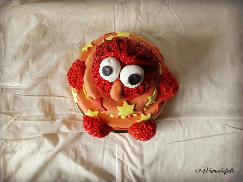 Torta Elmo Muppets