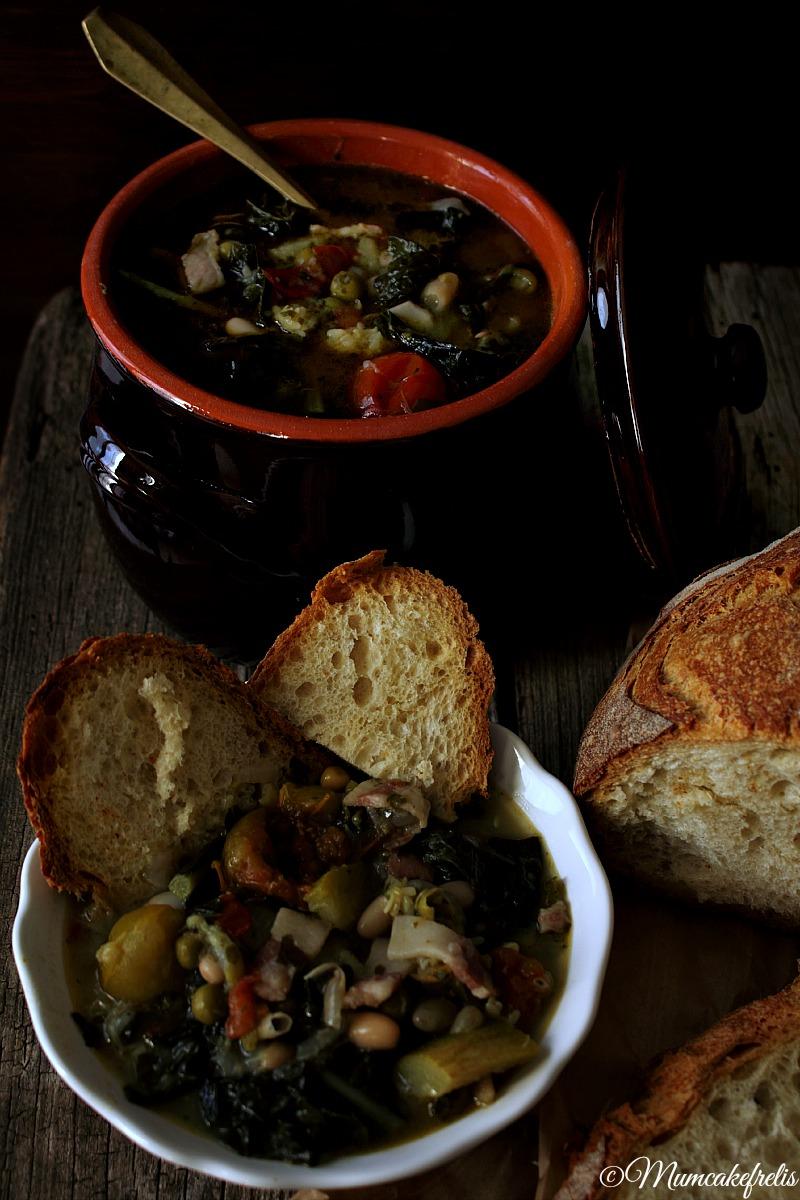 Zuppa toscana ribollita