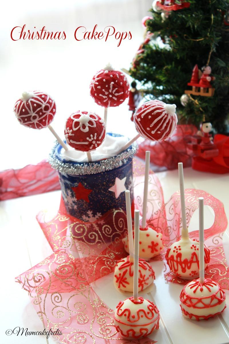 cakepops natalizi