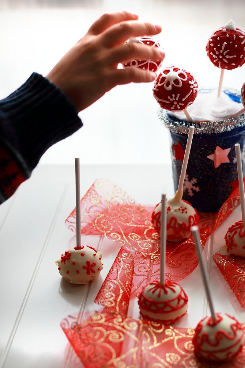 cakepops per le feste