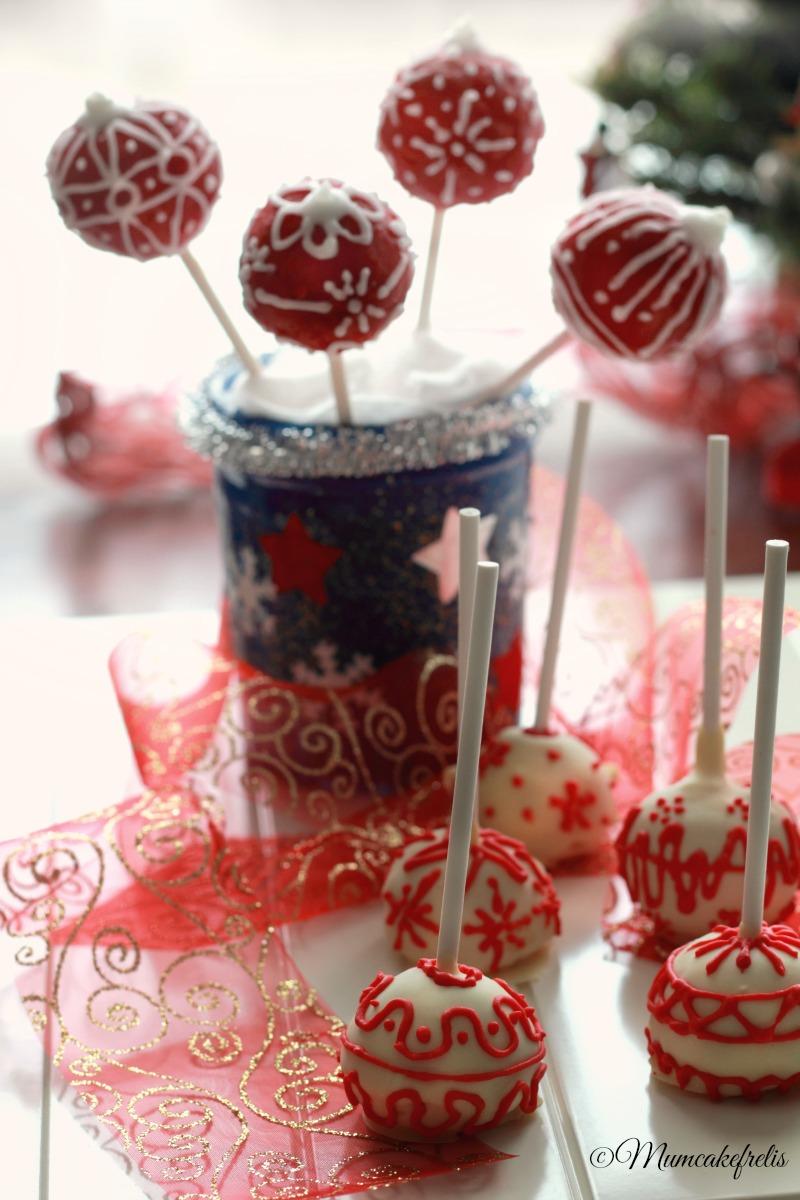 Tutorial cakepops natalizi