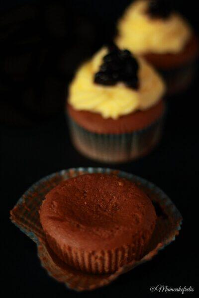 muffin cioccolato e marmellata