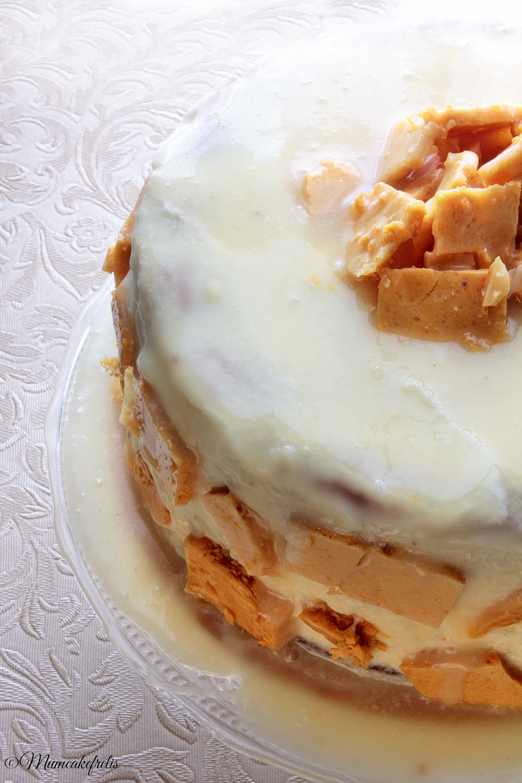 honey & cardamom cake