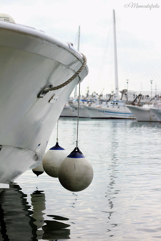 Imbarcazioni lungo la Passeggiata Morin - LA SPEZIA