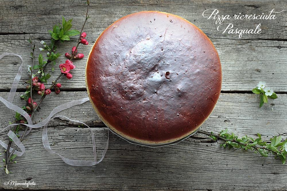 Pizza cresciuta o ricresciuta pasquale mum cake frelis for Dolci tradizionali romani