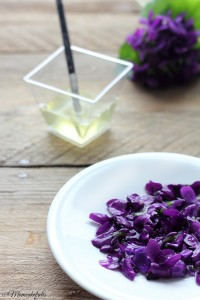 Violette candite