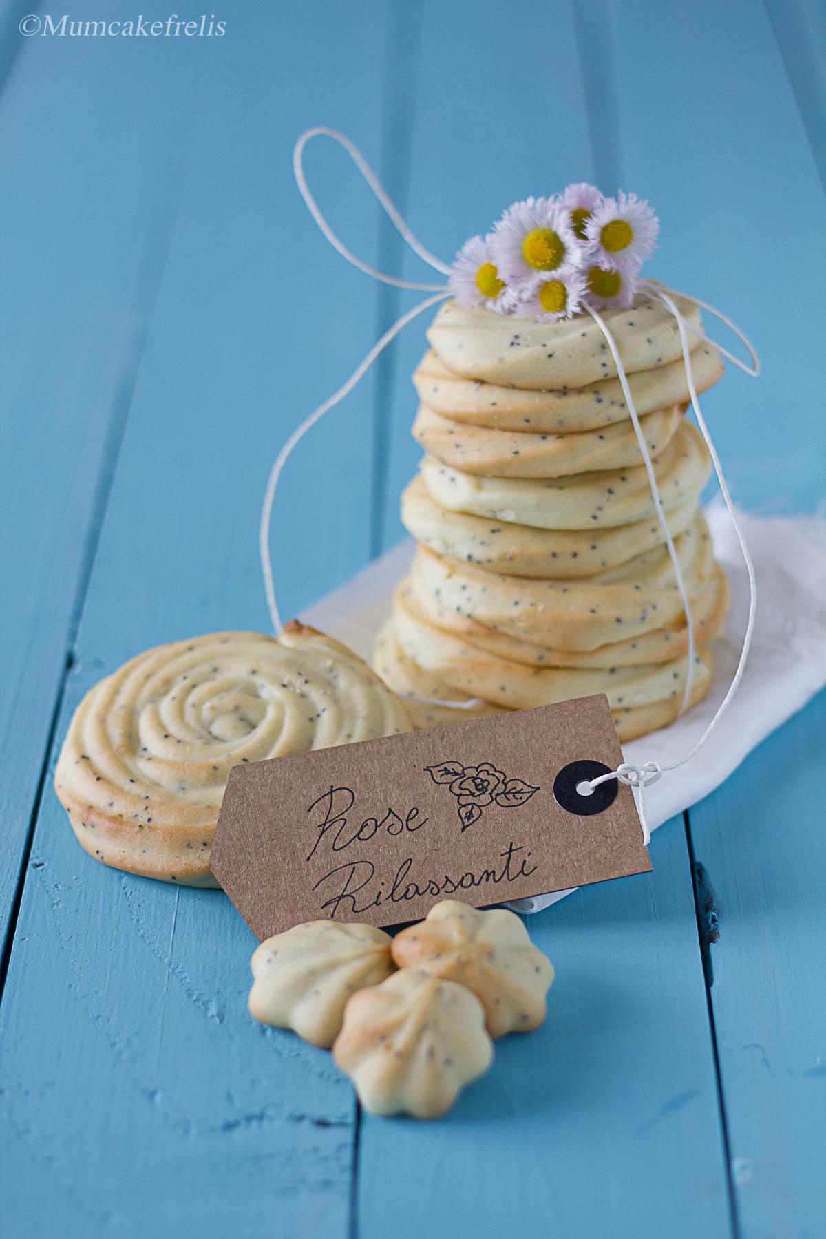 Biscotti di frolla montata con olio