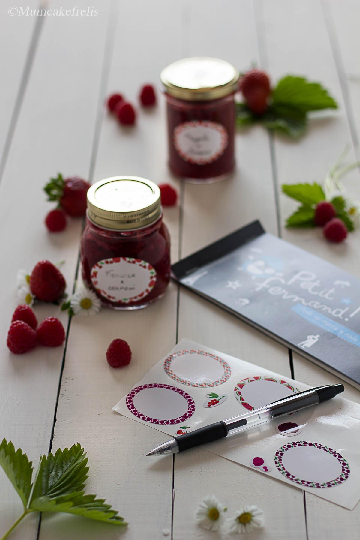 etichette per marmellate Petit Fernand