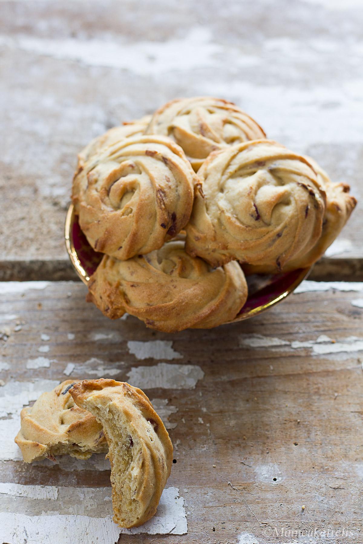 biscotti alla rosa ricetta