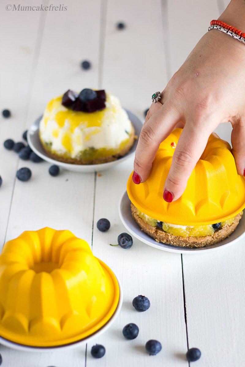 cheesecake cu mango